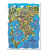 Giro d'Italia Giro d'italia 2019 - Poster, Multicolor