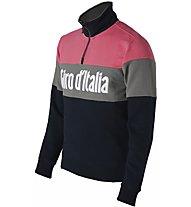 Navigare Giro d'Italia 2019 - felpa con zip - uomo, Pink/Grey/Blue