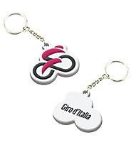Giro d'Italia Schlüsselanhänger - Fanartikel Giro d'Italia, White/Pink