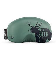 Gogglesoc Gogglesoc - protezione per maschera sci, Green/Black