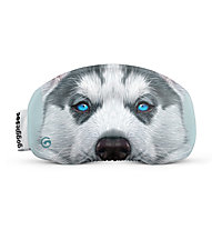 Gogglesoc Gogglesoc - protezione per maschera sci, White/Grey/Blue