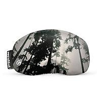 Gogglesoc Gogglesoc - protezione per maschera sci, Grey/Black/Dark Green