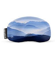 Gogglesoc Gogglesoc - Schutzüberzug für Skibrillen, Light Blue/Blue