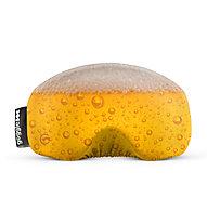 Gogglesoc Gogglesoc - protezione per maschera sci, Dark Yellow/White