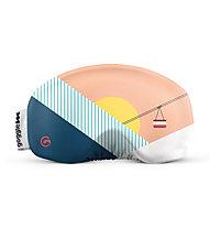 Gogglesoc Gogglesoc - Schutzüberzug für Skibrillen, Rose/White/Blue