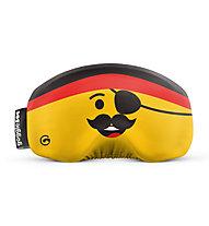 Gogglesoc Gogglesoc - Schutzüberzug für Skibrillen, Yellow/Orange/Black