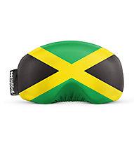 Gogglesoc Gogglesoc - Schutzüberzug für Skibrillen, Green/Yellow/Black