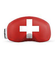 Gogglesoc Gogglesoc - Schutzüberzug für Skibrillen, Red/White