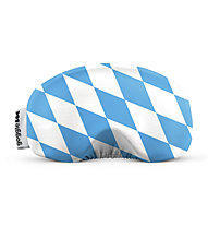 Gogglesoc Gogglesoc - Schutzüberzug für Skibrillen, Light Blue/White