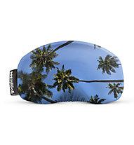 Gogglesoc Gogglesoc - Schutzüberzug für Skibrillen, Green/Blue