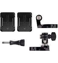 GoPro Helmet Front+Side Mount - supporto frontale e laterale per casco, Black