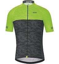 GORE WEAR C3 Cameleon - maglia bici - uomo, Black/Green