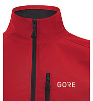 GORE WEAR GORE WINDSTOPPER Classic - Fahrradjacke - Herren, Red/Black