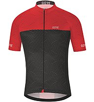GORE WEAR C3 Optiline - Radtrikot - Herren, Grey/Red