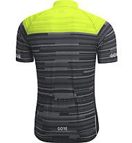 GORE WEAR Stripes Jersey - Fahrradtrikot - Herren, Black/Yellow