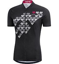 GORE WEAR Women Digi Heart Jersey - Fahrradtrikot - Damen, Black