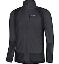 GORE C5 Partial GWS insulated - giacca bici - uomo, Grey/Black