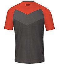GORE WEAR C5 Trail Short Sleeve Jersey - Radtrikot MTB - Herren, Orange/Grey