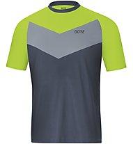 GORE WEAR C5 Trail Short Sleeve Jersey - Radtrikot MTB - Herren, Blue/Green
