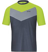 GORE WEAR C5 Trail Short Sleeve Jersey - Radtrikot MTB - Herren, Blue/Green
