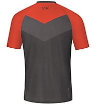 GORE WEAR C5 Trail Short Sleeve Jersey - Radtrikot MTB - Herren, Orange/Grey