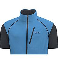 GORE WEAR GORE WINDSTOPPER Phantom Zip off - Fahrradjacke - Herren, Blue/Black