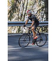 GORE WEAR Optiline - pantaloni bici corti con bretelle - uomo, Black/White