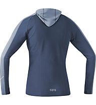 GORE WEAR R3 - felpa con cappuccio running - donna, Blue