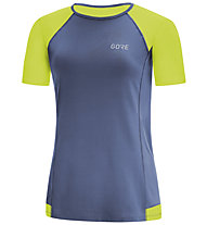 GORE WEAR R5 - maglia running - donna, Blue/Yellow