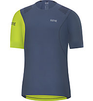 GORE WEAR R7 Shirt - maglia running - uomo, Blue/Green
