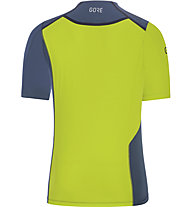 GORE WEAR R7 Shirt - Laufshirt - Herren, Blue/Green