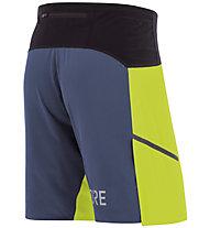 GORE WEAR R7 - pantaloncini running - uomo, Yellow/Blue