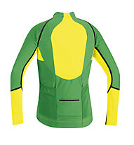 GORE BIKE WEAR Alp-X Pro WS SO Zip-Off Jersey, Green/Yellow