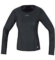 GORE BIKE WEAR Bl Ws - maglietta tecnica bici - donna, Black