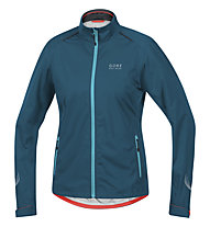 GORE BIKE WEAR E GT AS - giacca bici - donna, Light Blue/Blue