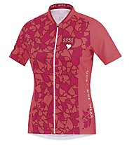 GORE BIKE WEAR Element Lady Love Camo Jersey, Pink/Orange