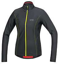 GORE BIKE WEAR Element Lady Thermo Jersey langärmliges Damen-Radtrikot, Black/Neon