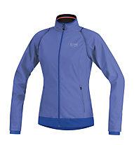 GORE BIKE WEAR E Lady WS AS Zip-Off Jacket, Blue/Light Blue