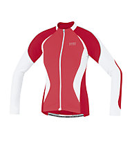 GORE BIKE WEAR Oxygen FZ Lady Jersey long, Red