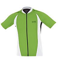 GORE BIKE WEAR Power Jersey Maglia Ciclismo, Green/White