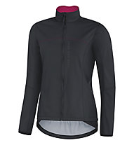 GORE BIKE WEAR Power Lady GORE WINDSTOPPER (SO) - Radjacke - Damen, Black/Pink