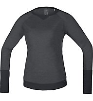 GORE BIKE WEAR Power Trail - maglia a maniche lunghe bici - donna, Black