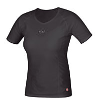 GORE BIKE WEAR Base Layer Lady WS Shirt S/S, Black