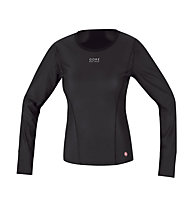 GORE BIKE WEAR Base Layer WS Lady Thermo Shirt long, Black