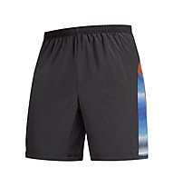 GORE RUNNING WEAR Air Print Baggy Shorts, Black