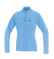 GORE RUNNING WEAR Essential Thermo Lady Shirt, Turquoise/Light Blue