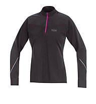 GORE RUNNING WEAR Essential Thermo Lady Shirt, Black/Pink