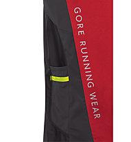 GORE RUNNING WEAR Fusion GORE WS - Laufshirt Kurzarm - Herren, Red/Black