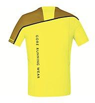 GORE RUNNING WEAR Fusion - maglia running - uomo, Yellow