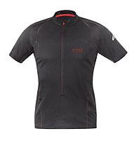 GORE RUNNING WEAR Magnitudine 2.0 Zip - Laufshirt, Black